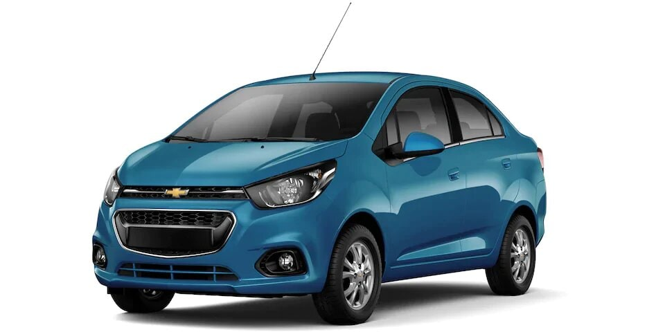 Chevrolet Spark Sedan - Auto Familiar Azul Caribe