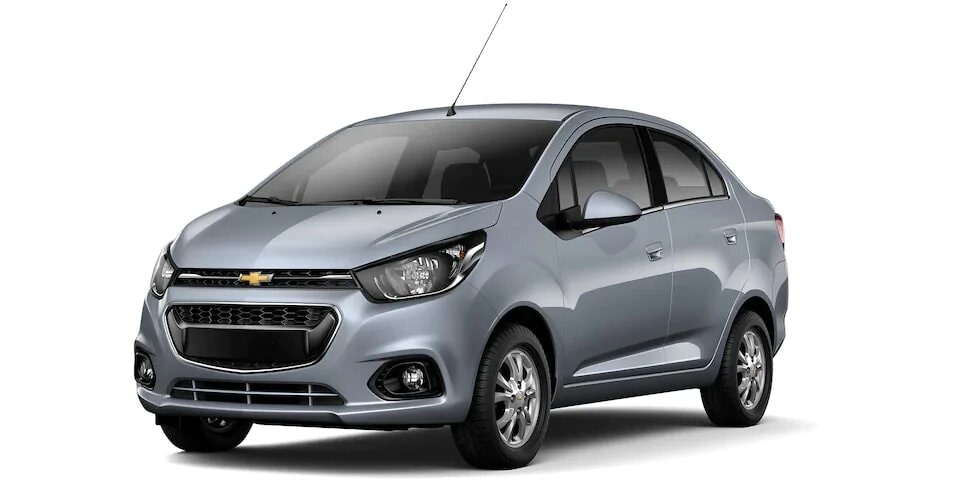 Chevrolet Spark Sedan - Auto Familiar Gris Acero