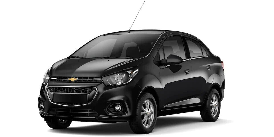 Chevrolet Spark Sedan - Auto Familiar Negro