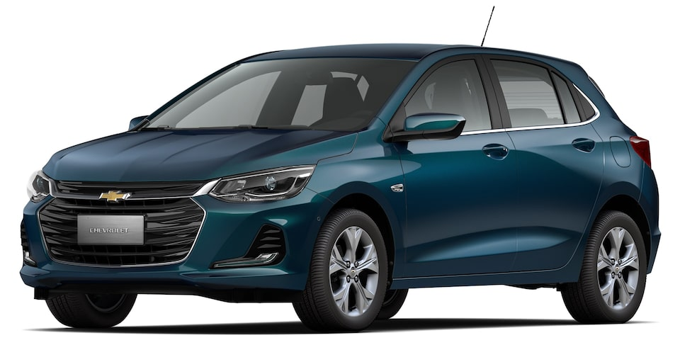 Chevrolet-Onix Sedan-Azul Metalico