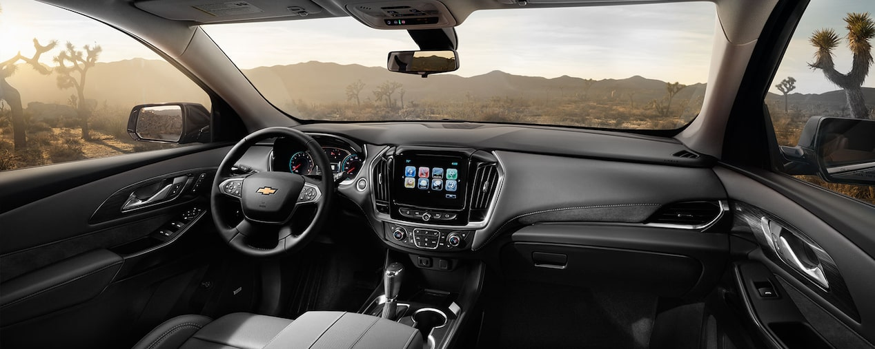 Chevrolet Traverse - Interior de tu SUV