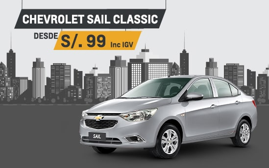 Chevrolet - Vitrina Virtual Sail